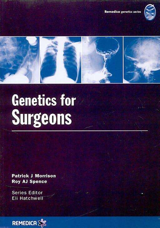 Portada del libro 9781901346695 Genetics for Surgeons