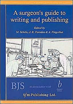 Portada del libro 9781903378014 A Surgeon's Guide to Writing and Publishing