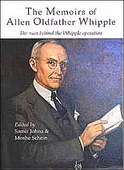 Portada del libro 9781903378144 The Memoirs of Allen Oldfather Whipple. the Man behind the Whipple Operation