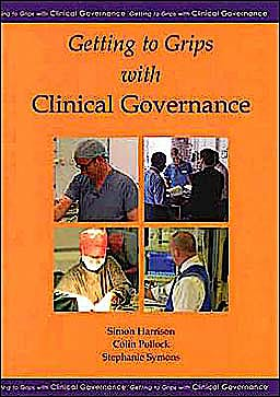 Portada del libro 9781903378168 Getting to Grips with Clinical Governance