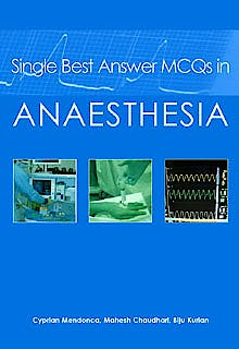 Portada del libro 9781903378755 Single Best Answer Mcqs in Anaesthesia, Vol. 1: Clinical Anaesthesia