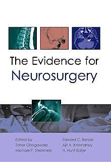Portada del libro 9781903378793 The Evidence for Neurosurgery