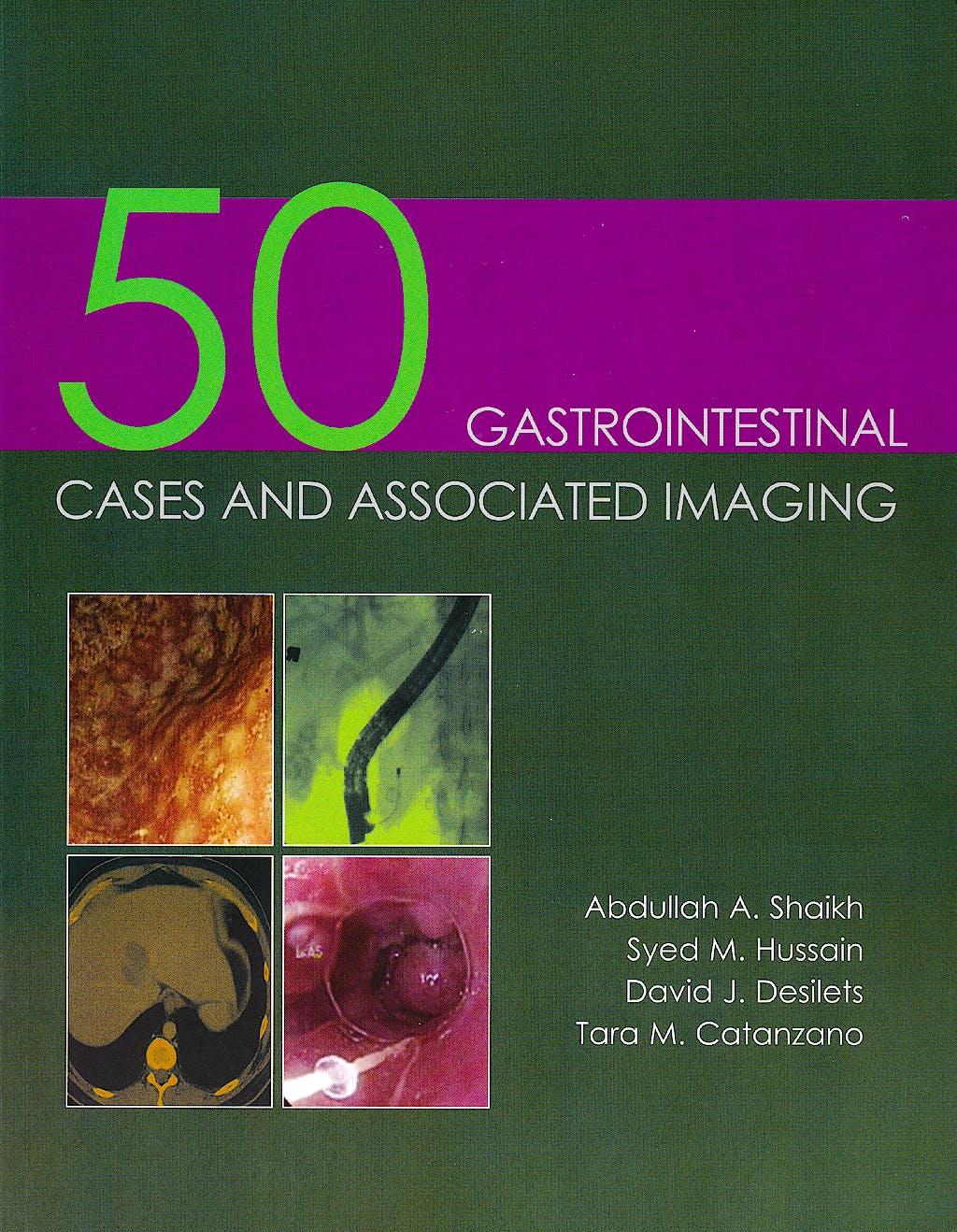 Portada del libro 9781903378854 50 Gastrointestinal Cases and Associated Imaging