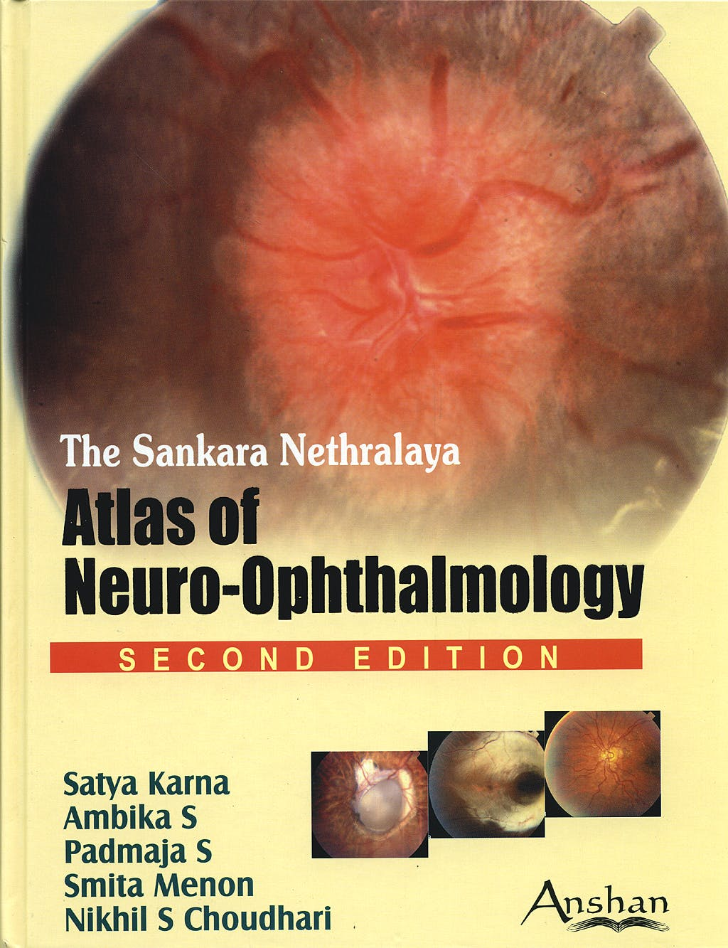 Portada del libro 9781904798330 The Sankara Nethralaya Atlas of Neuro-Ophthalmology