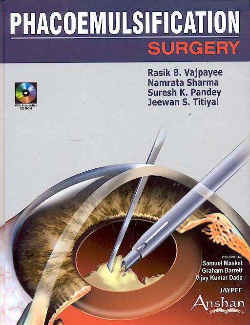 Portada del libro 9781904798521 Phacoemulsification Surgery, with Interactive
