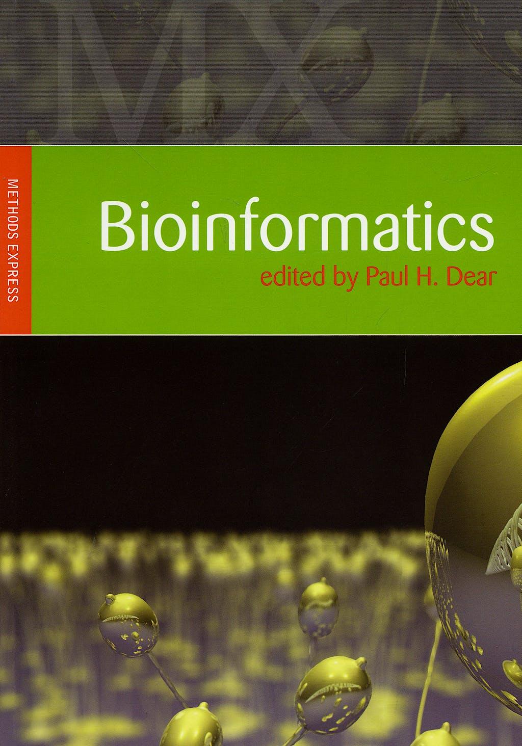 Portada del libro 9781904842163 Bioinformatics