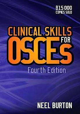 Portada del libro 9781904842828 Clinical Skills for Osces