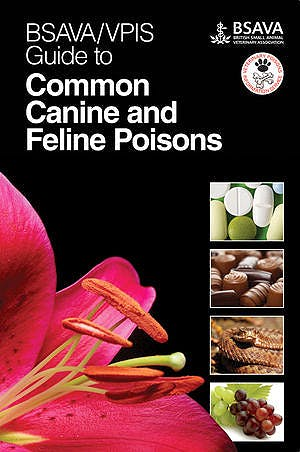 Portada del libro 9781905319459 Bsava/vpis Guide to Common Canine and Feline Poisons