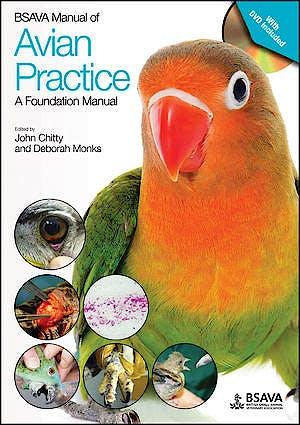 Portada del libro 9781905319817 BSAVA Manual of Avian Practice. A Foundation Manual + DVD