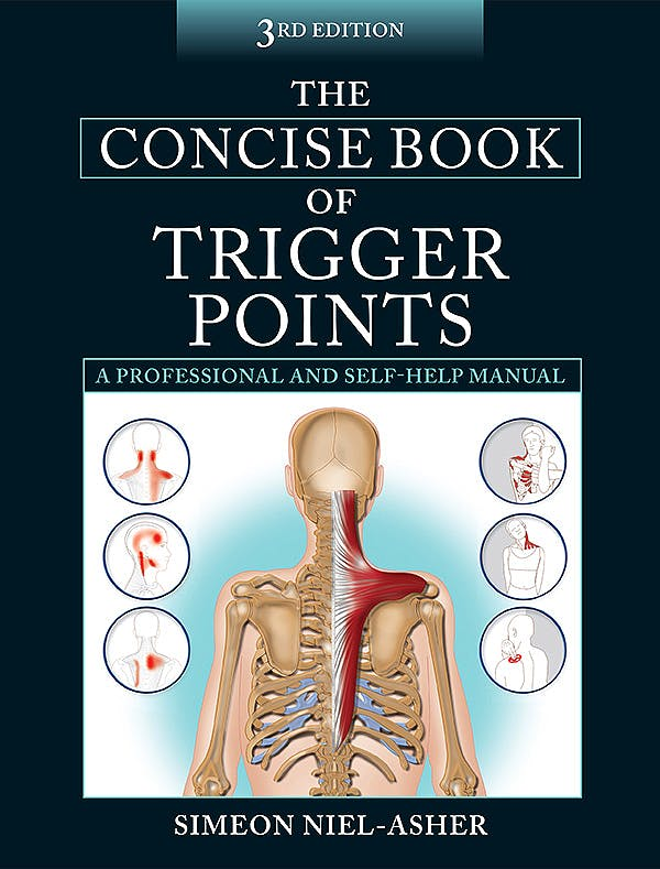 Portada del libro 9781905367511 The Concise Book of Trigger Points. A Professional and Self-Help Manual