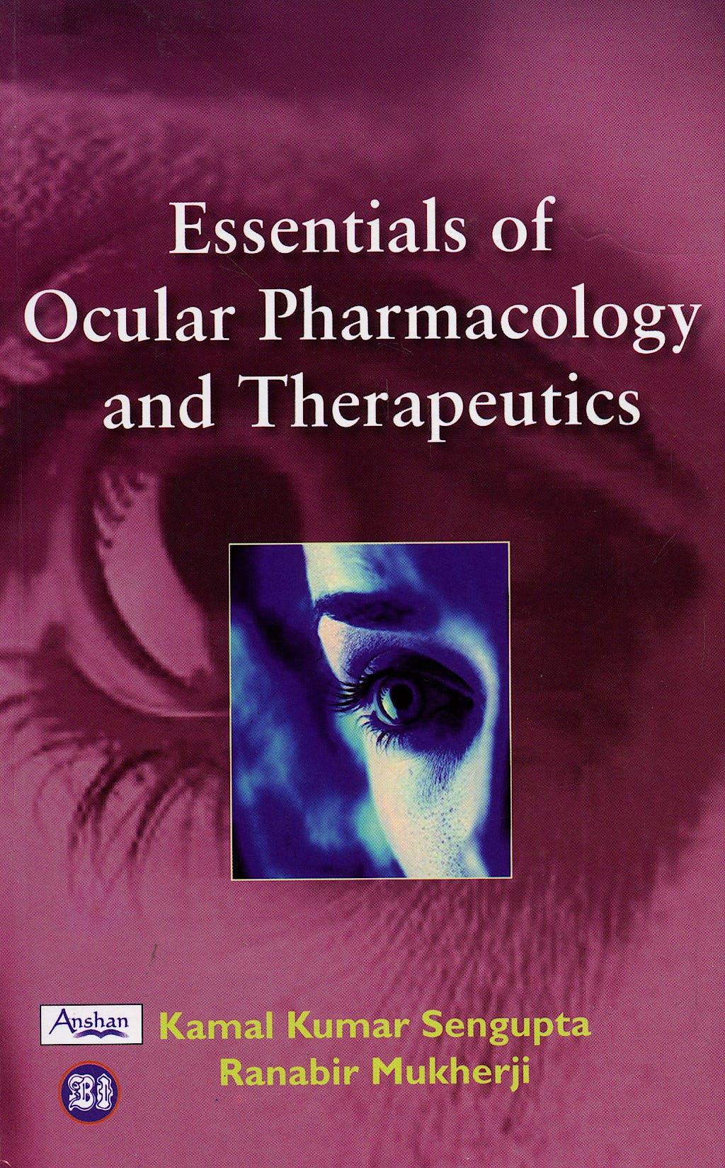 Portada del libro 9781905740017 Essentials of Ocular Pharmacology and Therapeutics