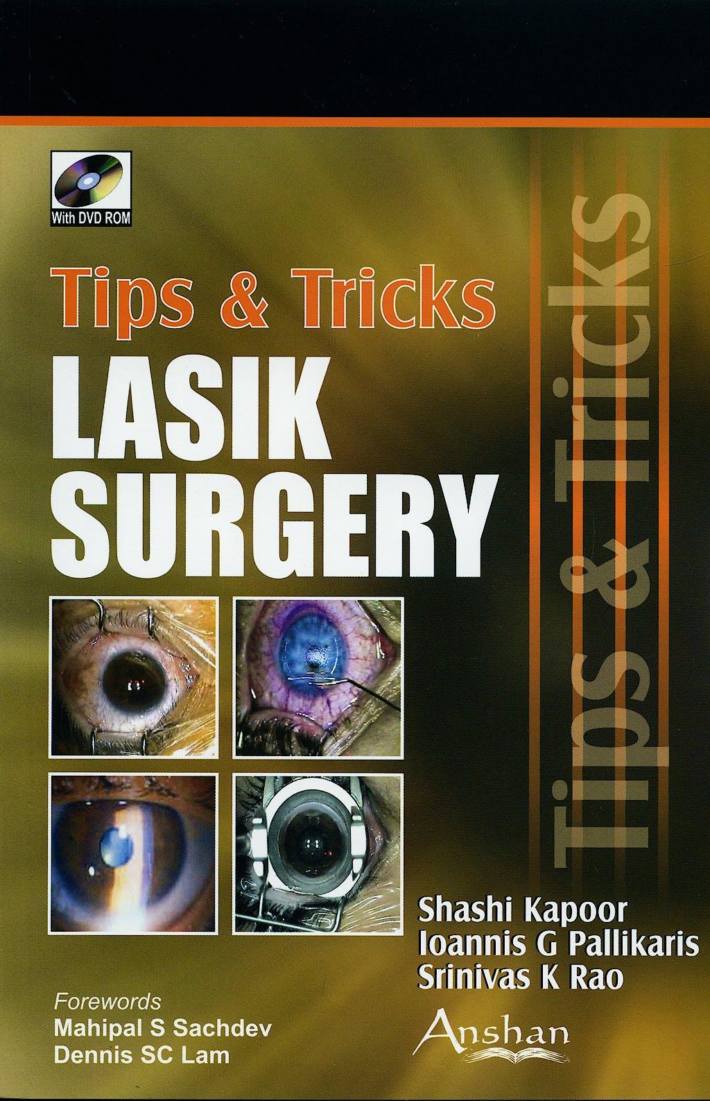 Portada del libro 9781905740833 Tips and Tricks Lasik Surgery + Dvd-Rom