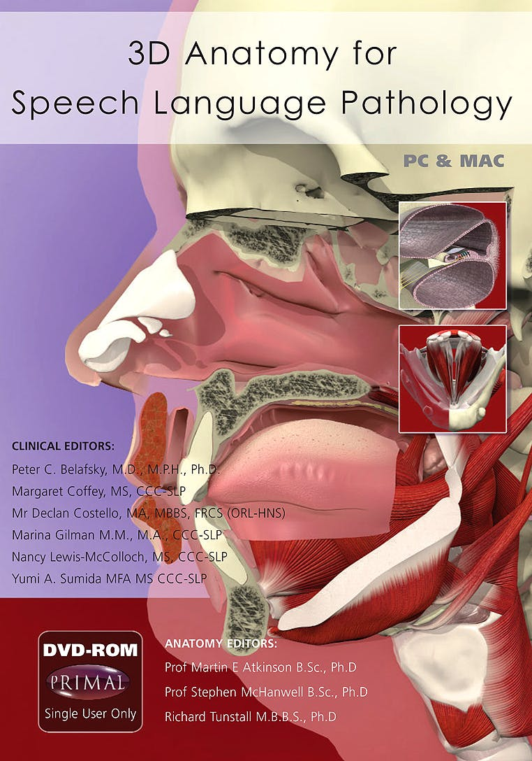 3D Anatomy for Speech Language Pathology (DVD-ROM)