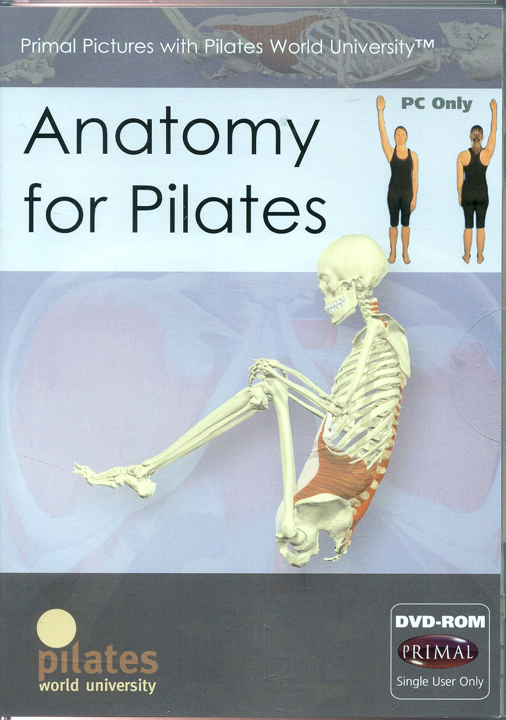 Anatomy for Pilates (DVD-ROM, Solo para Mac Os)