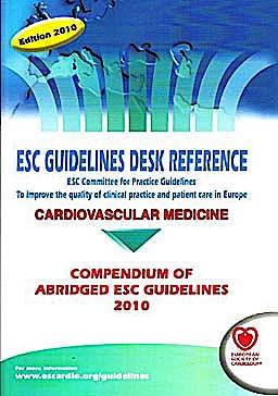 Portada del libro 9781907673009 Esc Guidelines Desk Reference 2010 + Online Files