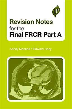 Portada del libro 9781907816000 Revision Notes for the Final Frcr, Part A