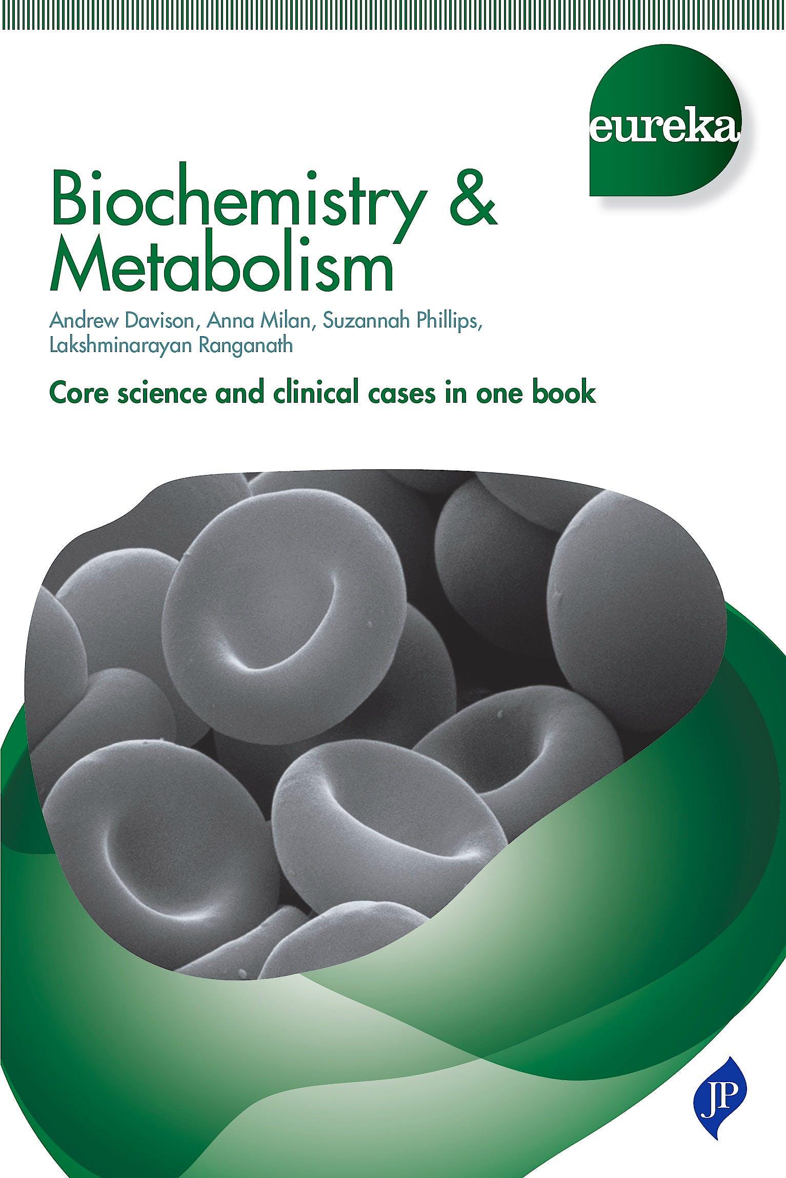Portada del libro 9781907816833 Eureka: Biochemistry and Metabolism