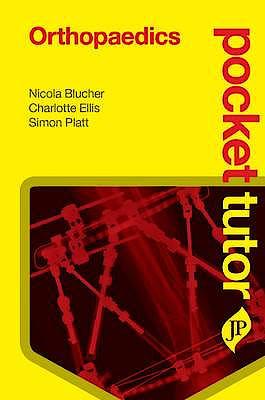 Portada del libro 9781907816994 Pocket Tutor Orthopaedics