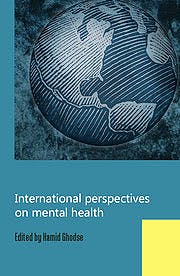 Portada del libro 9781908020000 International Perspectives on Mental Health