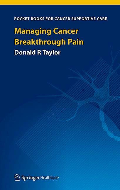 Portada del libro 9781908517760 Managing Cancer Breakthrough Pain