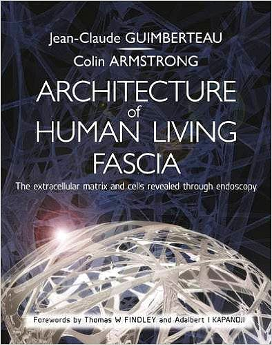 Portada del libro 9781909141117 Architecture of Human Living Fascia. The Extracellular Matrix and Cells Revealed through Endoscopy + DVD and Online Access