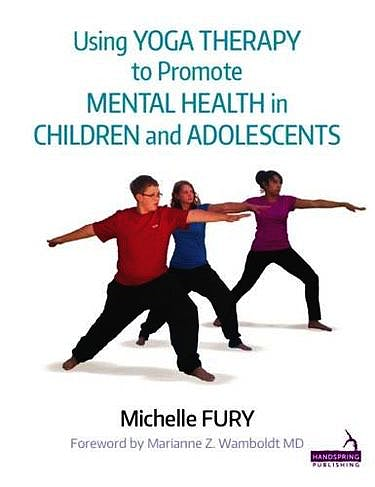 Portada del libro 9781909141193 Using Yoga Therapy to Promote Mental Health in Children and Adolescents