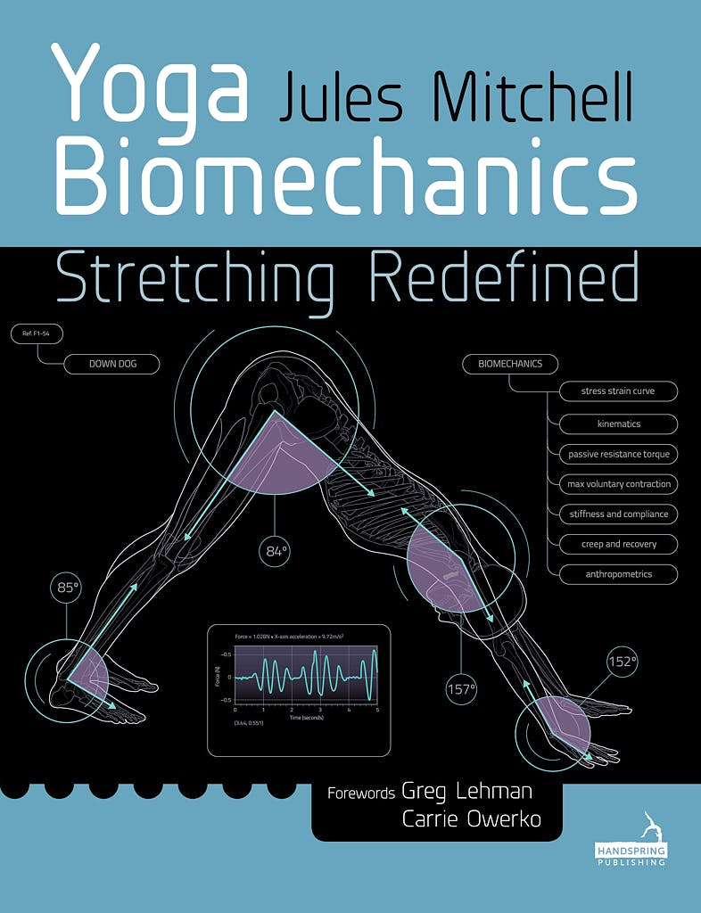 Portada del libro 9781909141612 Yoga Biomechanics Stretching Redefined