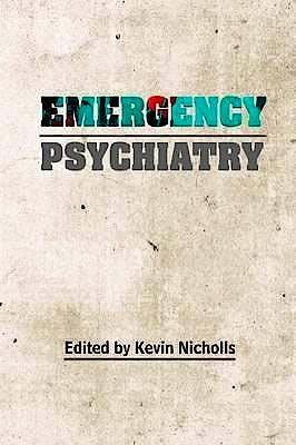 Portada del libro 9781909726307 Emergency Psychiatry