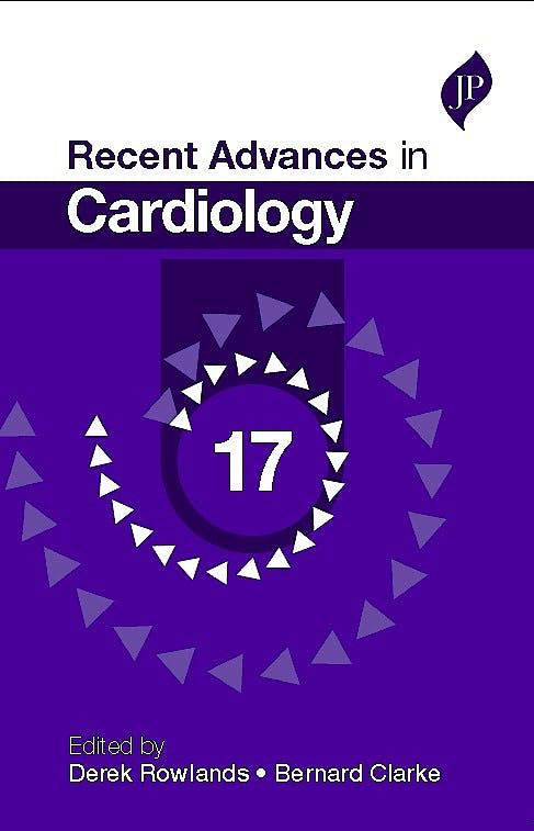 Portada del libro 9781909836334 Recent Advances in Cardiology, Vol. 17