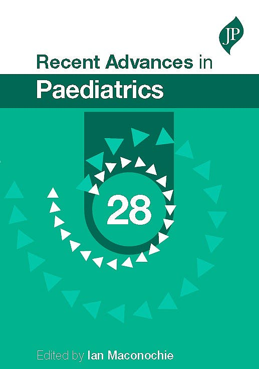 Portada del libro 9781909836600 Recent Advances in Paediatrics, Vol. 28
