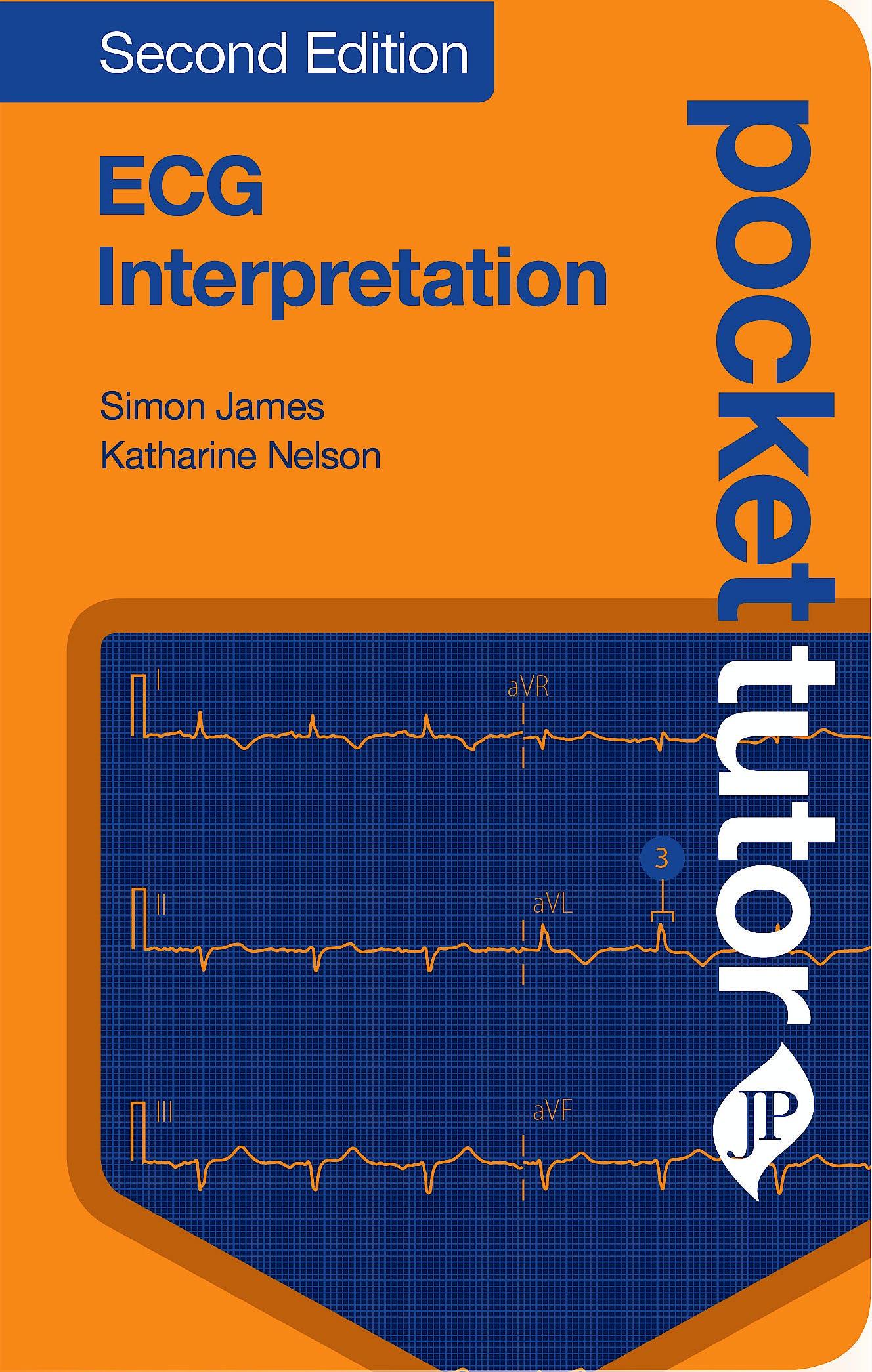 Portada del libro 9781909836716 Pocket Tutor ECG Interpretation
