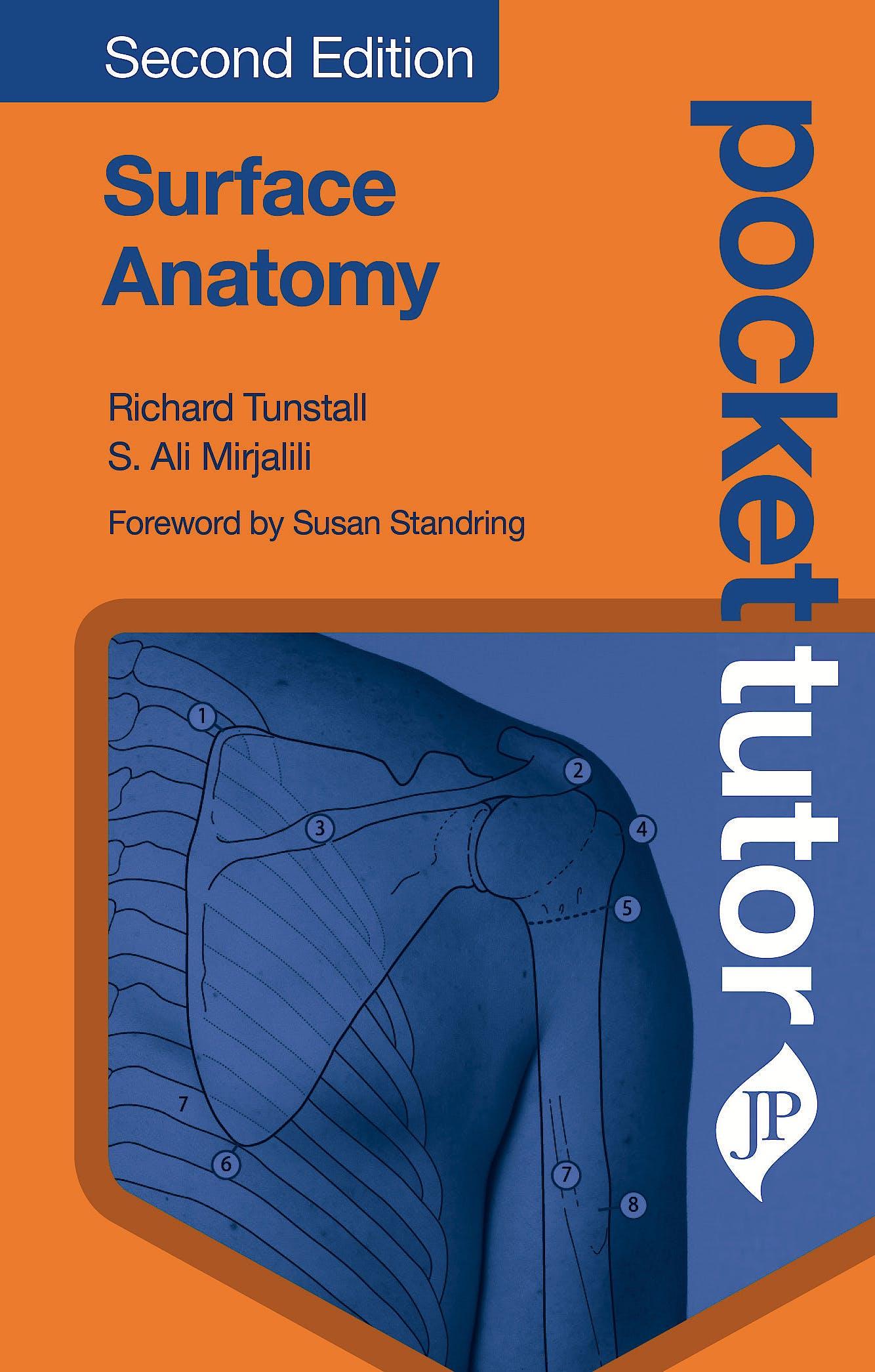 Portada del libro 9781909836822 Pocket Tutor Surface Anatomy