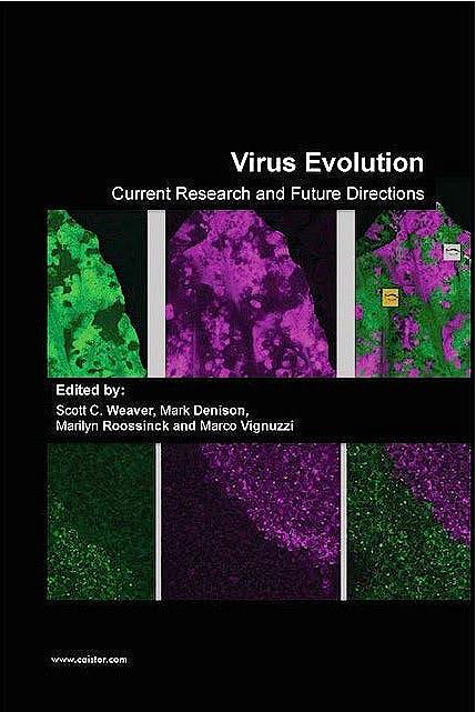 Portada del libro 9781910190234 Virus Evolution. Current Research and Future Directions