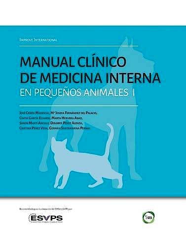 Portada del libro 9781910455654 Manual Clínico de Medicina Interna en Pequenos Animales I