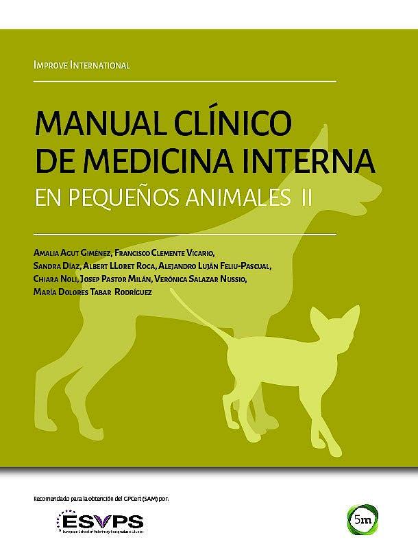 Portada del libro 9781910455661 Manual Clínico de Medicina Interna en Pequeños Animales II