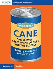 Portada del libro 9781911623366 Camberwell Assessment of Need for the Elderly CANE