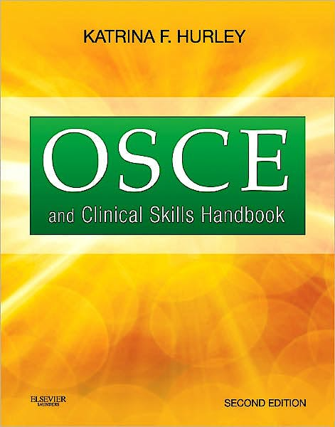 Portada del libro 9781926648156 Osce and Clinical Skills Handbook