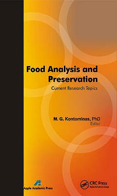 Portada del libro 9781926895079 Food Analysis and Preservation: Current Research Topics