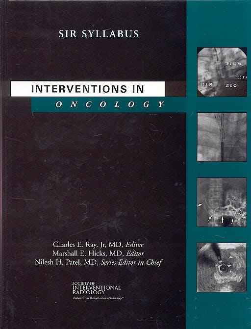Portada del libro 9781928625094 Interventions in Oncology. Sir Syllabus