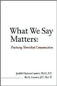Portada del libro 9781930485242 What We Say Matters: Practicing Nonviolent Communication