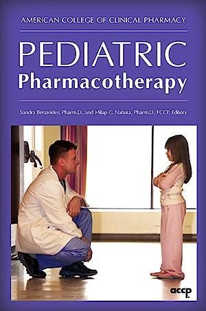 Portada del libro 9781932658897 Pediatric Pharmacotherapy