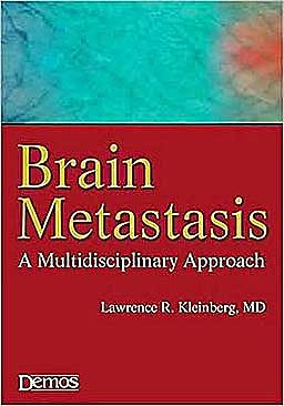 Portada del libro 9781933864433 Brain Metastasis. a Multidisciplinary Approach