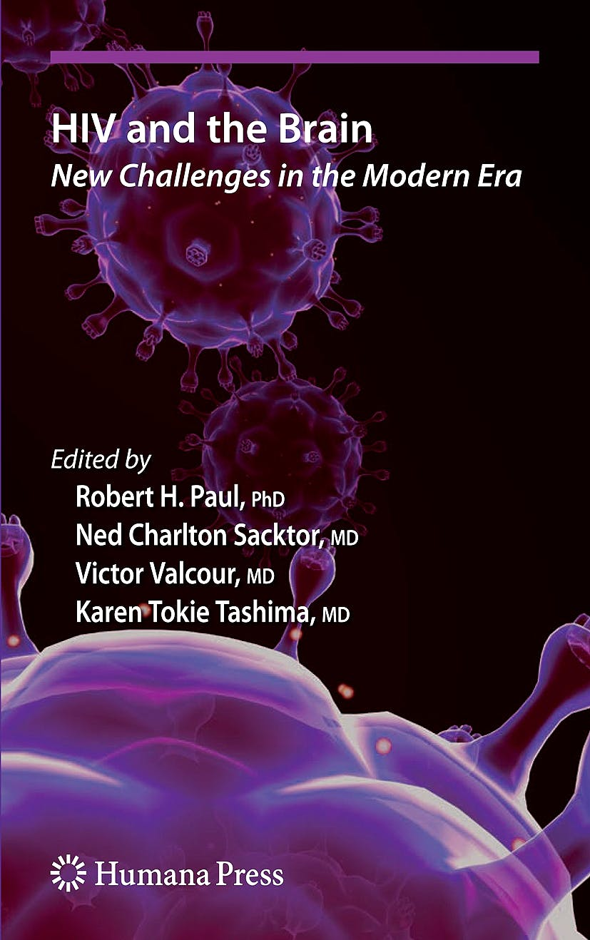 Portada del libro 9781934115084 Hiv and the Brain