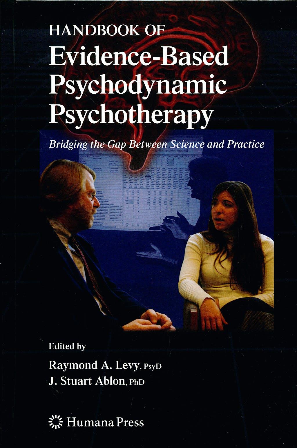 Portada del libro 9781934115114 Handbook of Evidence-Based Psychodynamic Psychotherapy