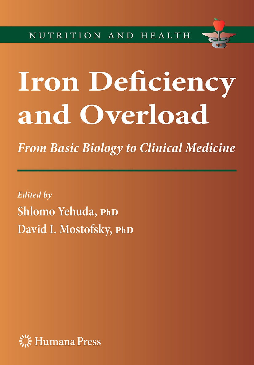 Portada del libro 9781934115220 Iron Deficiency and Overload. from Basic Biology to Clinical Medicine