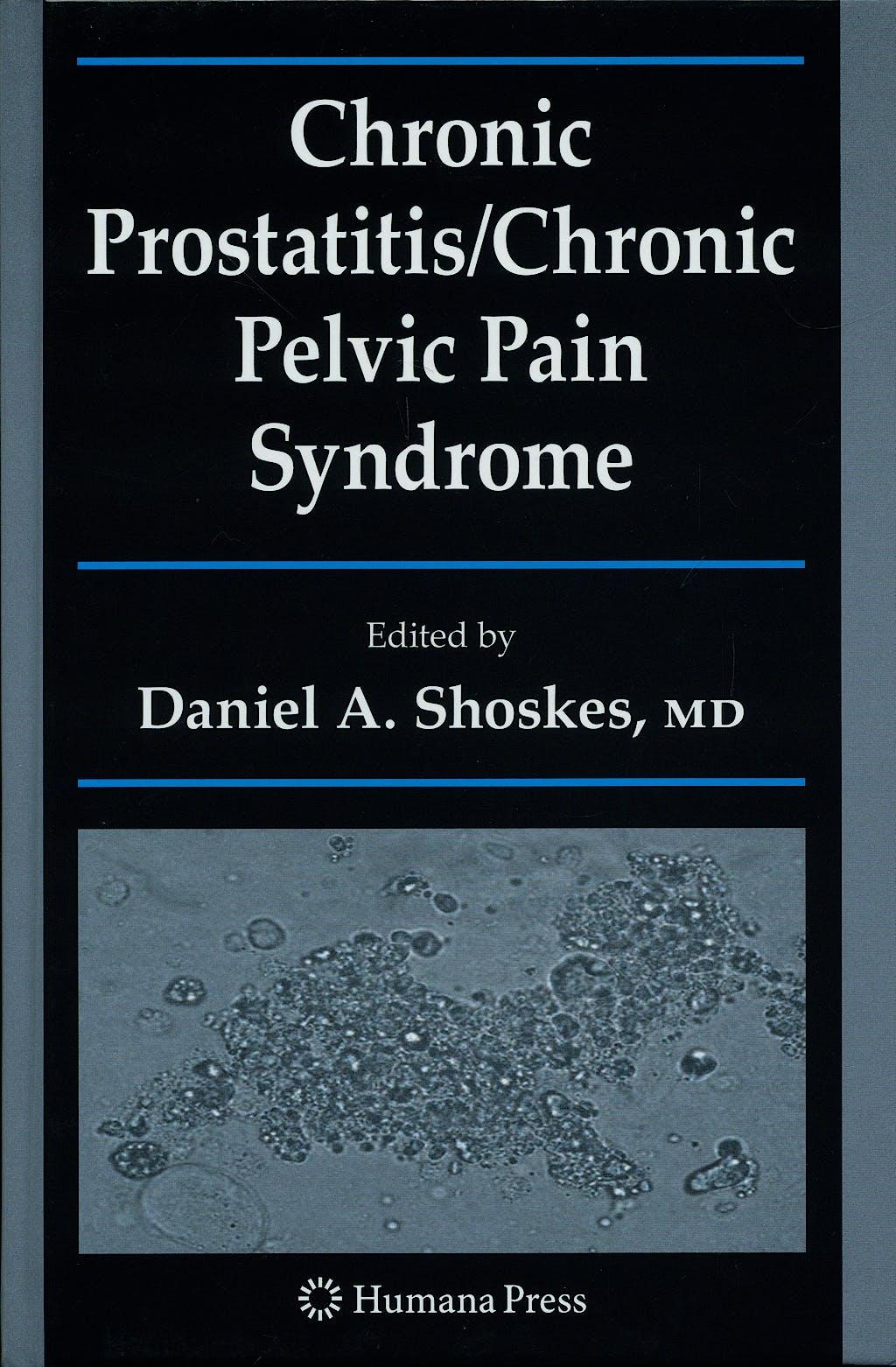 Portada del libro 9781934115275 Chronic Prostatitis / Chronic Pelvic Pain Syndrome