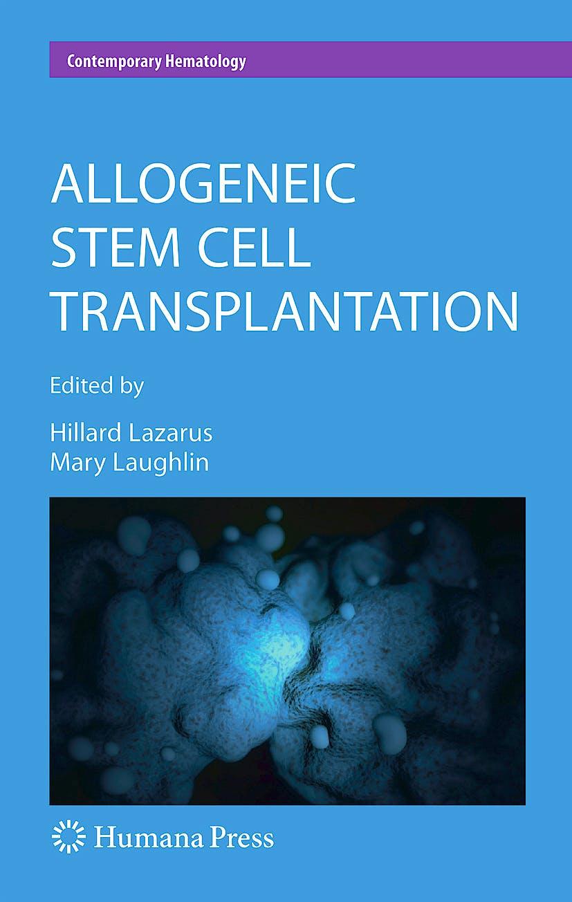 Portada del libro 9781934115336 Allogeneic Stem Cell Transplantation