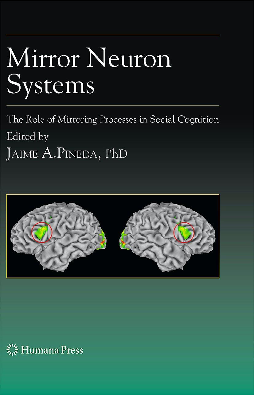 Portada del libro 9781934115343 Mirror Neuron Systems