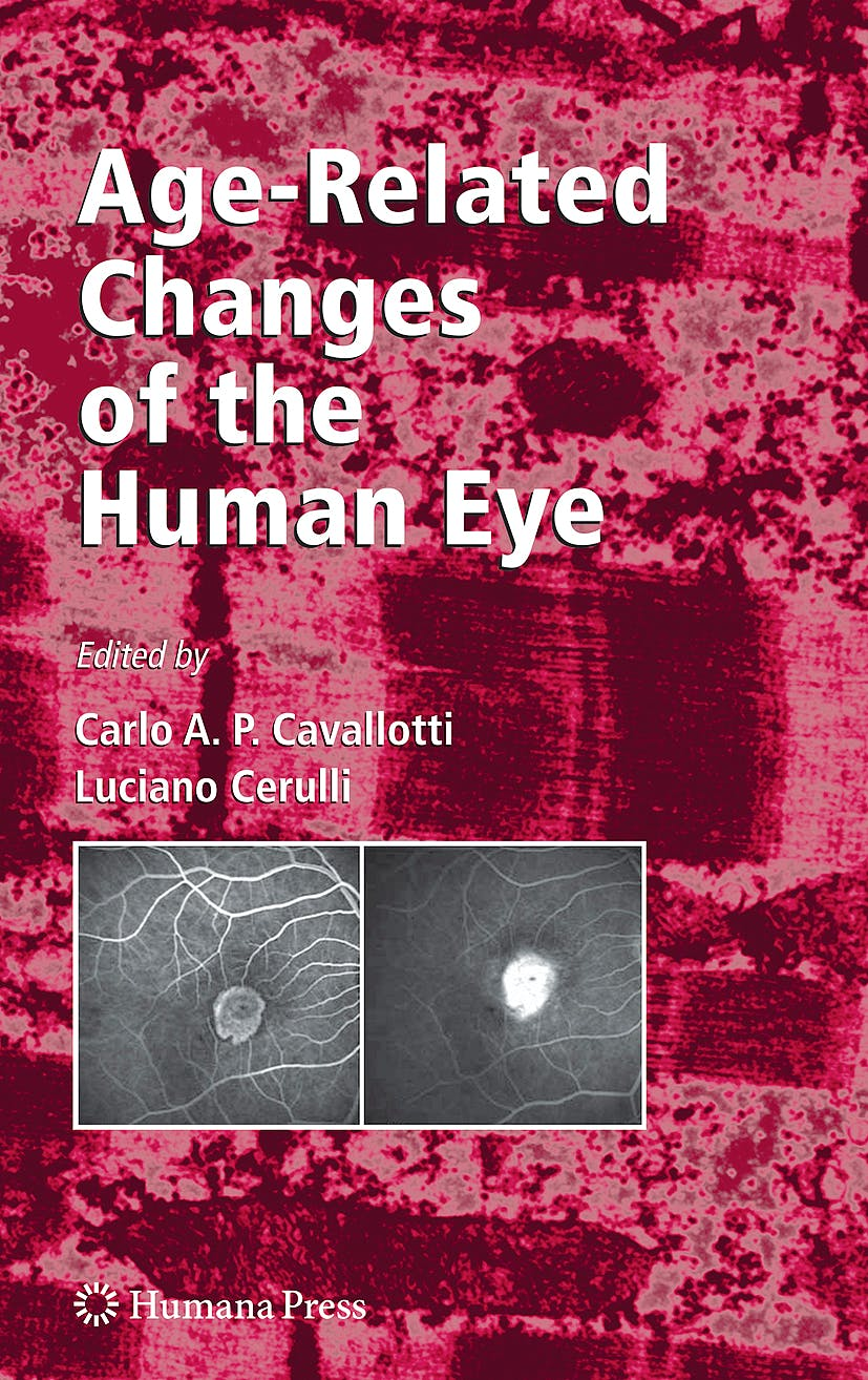 Portada del libro 9781934115558 Age-Related Changes of the Human Eye