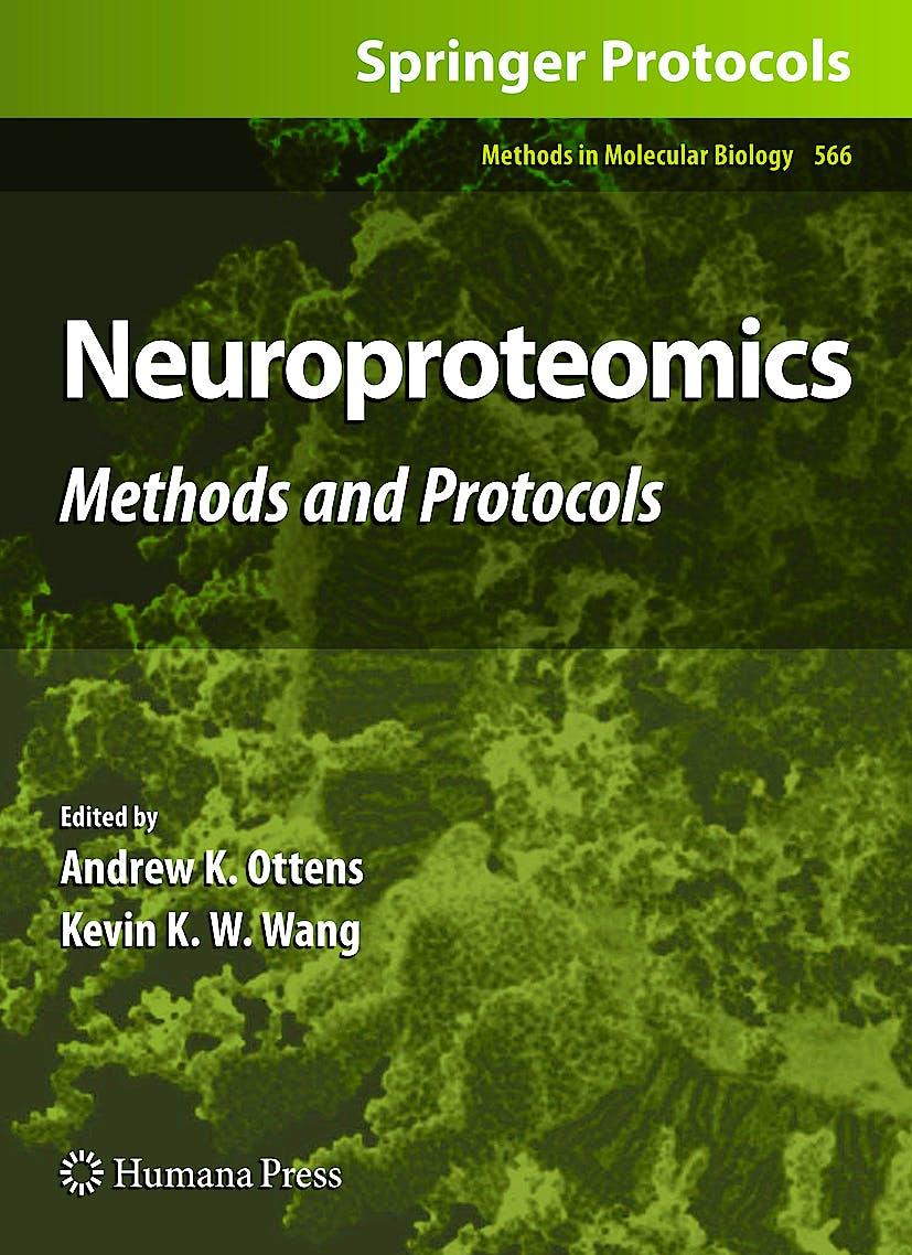 Portada del libro 9781934115848 Neuroproteomics. Methods and Protocols